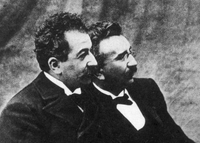 Auguste and Louis Lumiere