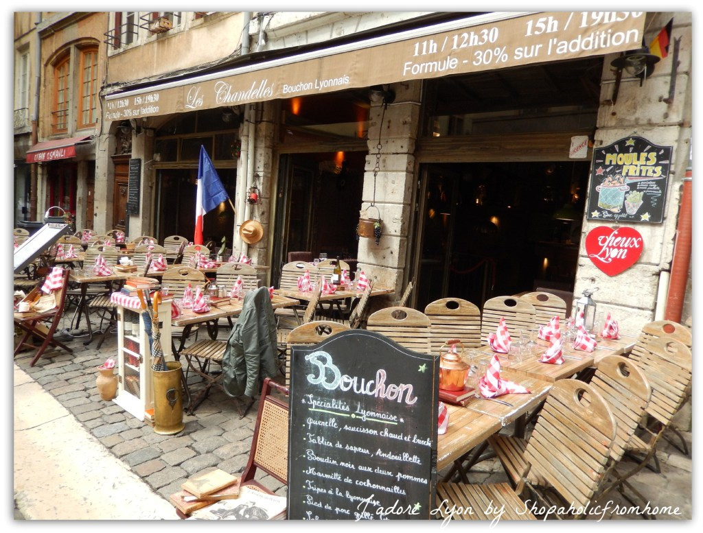 A bouchon in Lyon old town