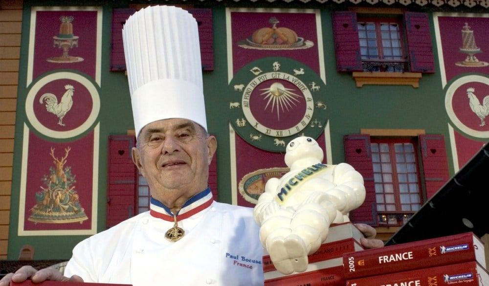 paul bocuse, famous chef from Lyon