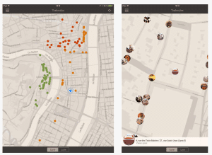 Traboules in Lyon Mobile App