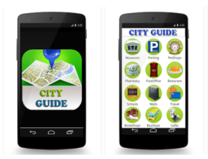 Lyon City Guide Application