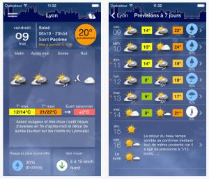 Météo Lyon Mobile App