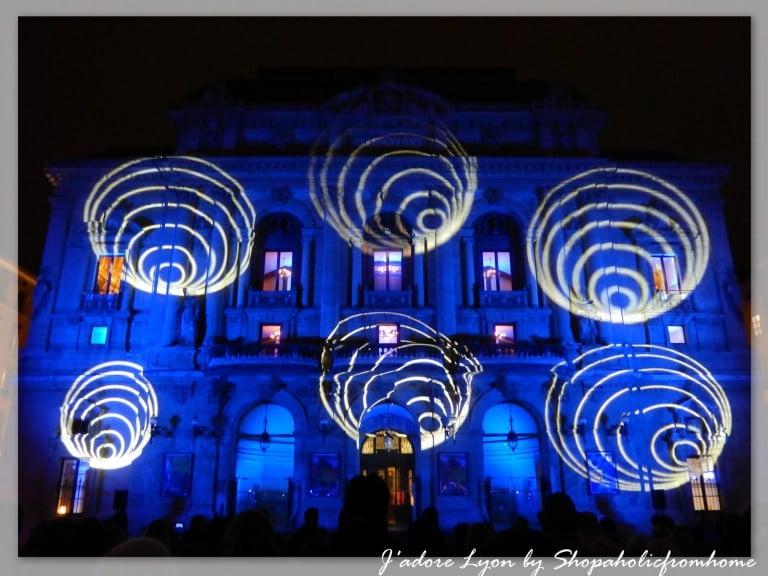 Fete des Lumières LYON Place des Celestins 2014