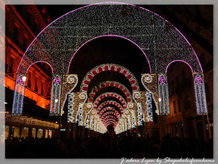 Fetes des Lumières Lyon Rue de la République