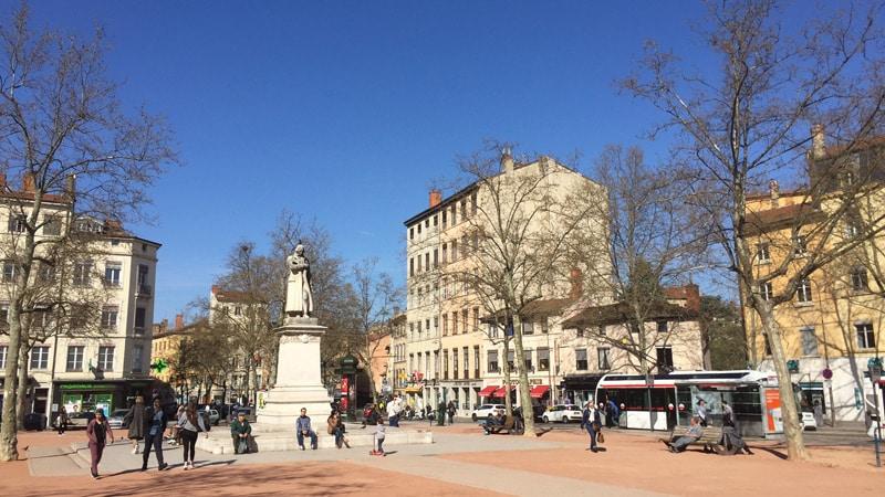 Place de la Croix-Rousse in Lyon
