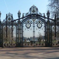 portail des enfants du rhône at the parc de la tête d'or in lyon
