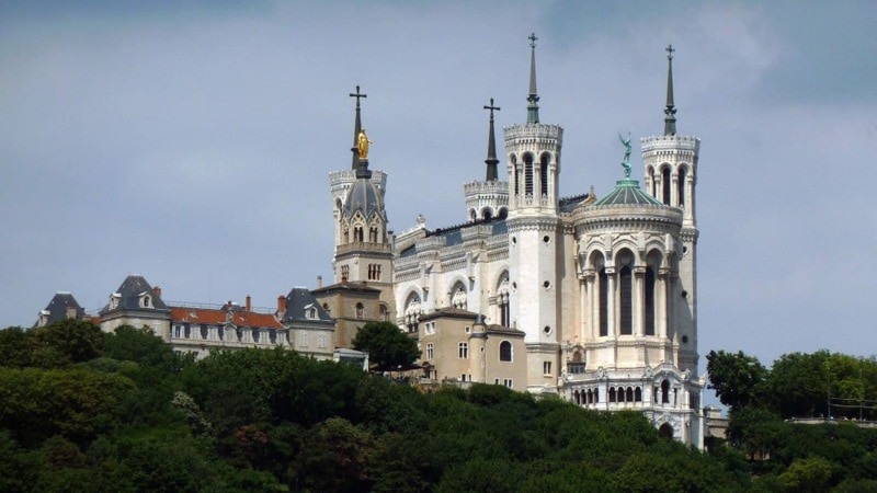 Basilique Fourviere - UNESCO in Lyon, France