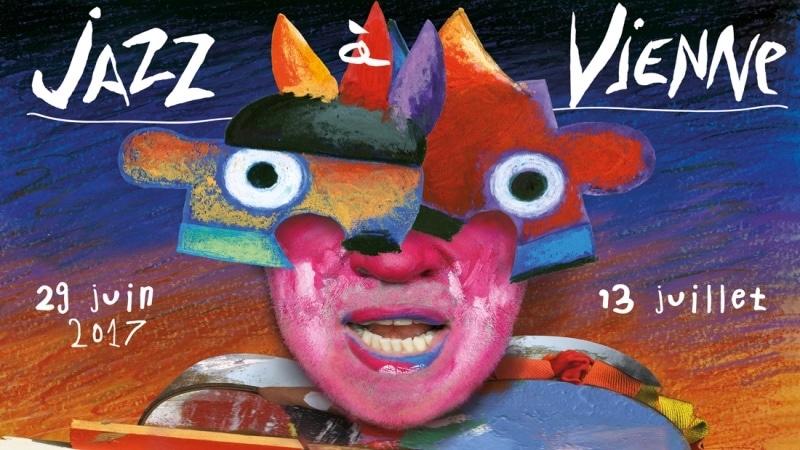 jazz à vienne festival 2017 poster