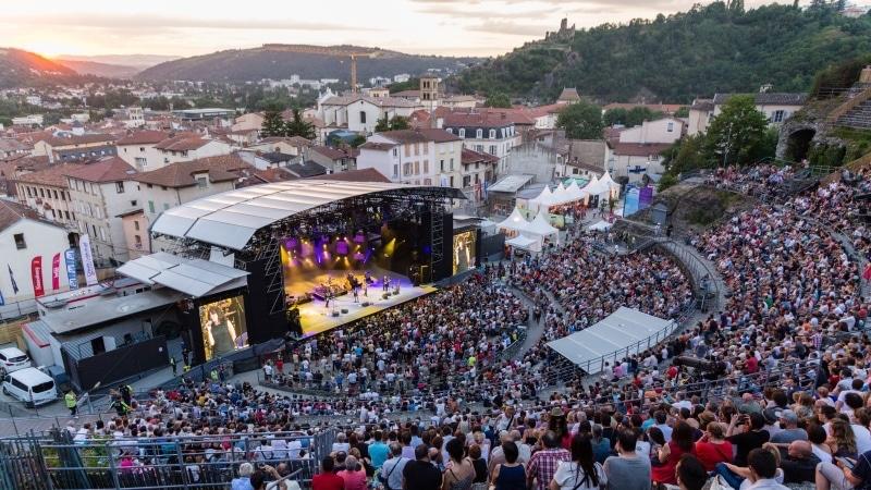 Roman amphitheatre - Vienne Jazz Festival