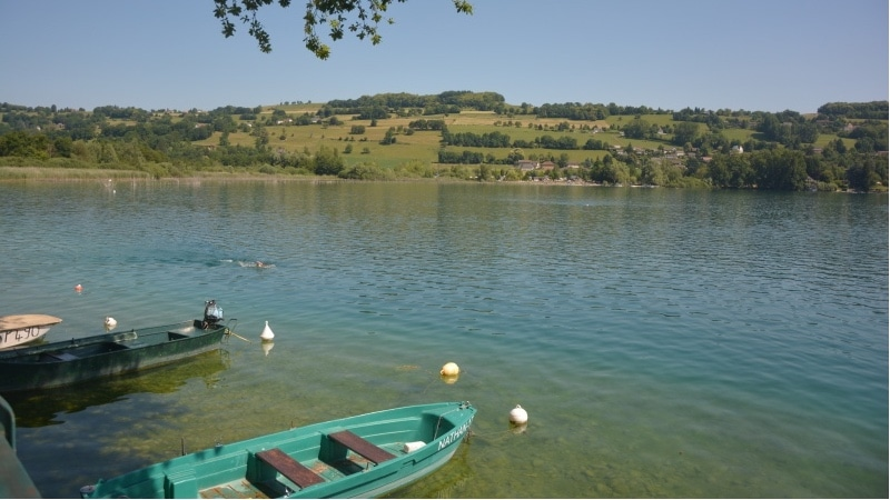Lake Paladru near Lyon