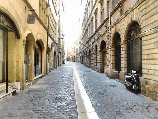 Rue Juiverie in Lyon