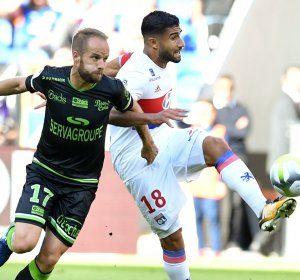 Fekir nets as Lyon edge Guingamp