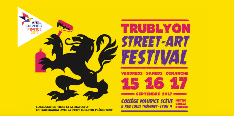 Trublyon: Lyon Street Art Festival