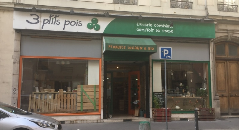 3 Ptits Pois: Organic grocery in Lyon