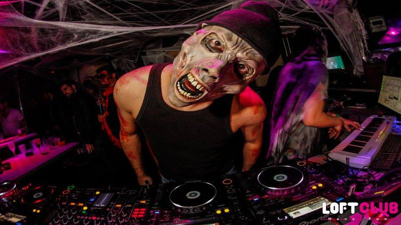 Lyon clubbing : halloween party