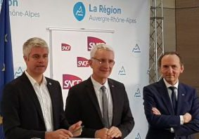 Auvergne-Rhône-Alpes regional contract calls for 40% cut in delays