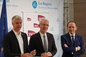 Auvergne-Rhône-Alpes regional contract calls for 40% cut in delays