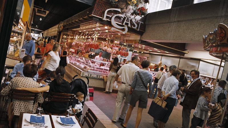 Les Halles De Lyon Paul Bocuse