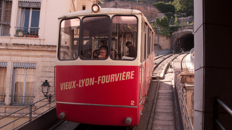 Vieux-Lyon-Fourvière funicular