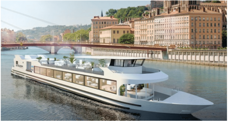 Celestins new cruising boat in Lyon