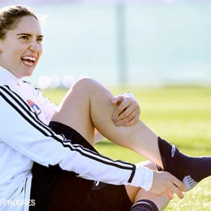 OL Women: Morgan Brian takes her first steps with Lyon