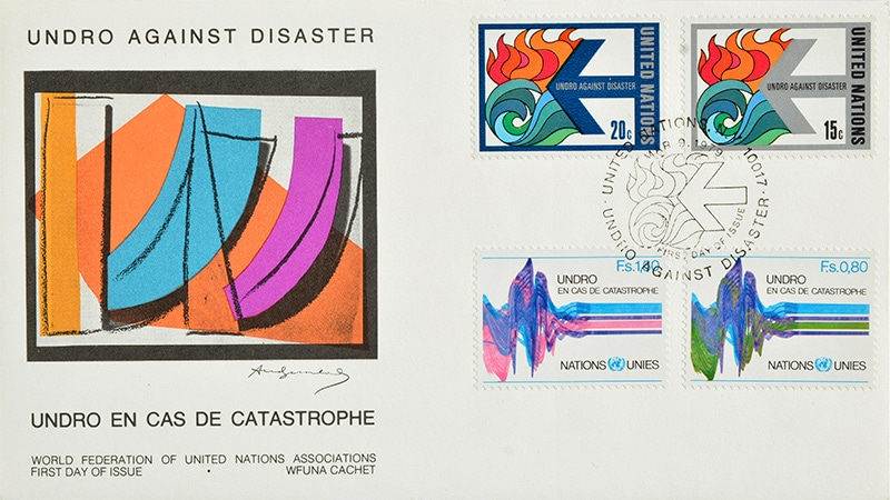 UNDRO against disaster UN publicity letter, 1979