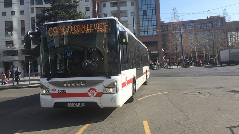 Bus in Lyon