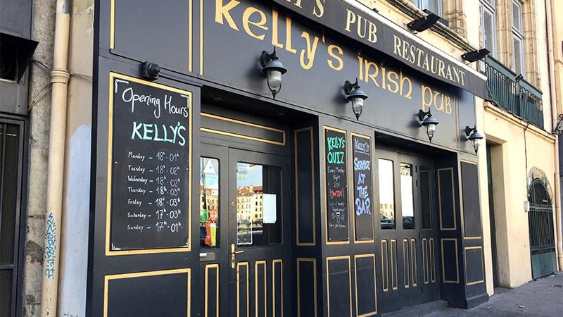 Kelly's Irish Pub in Vieux Lyon.