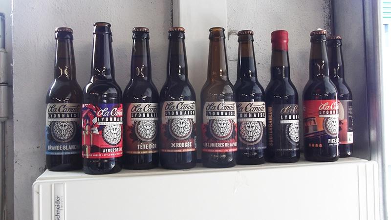La Canute Lyonnaise beers