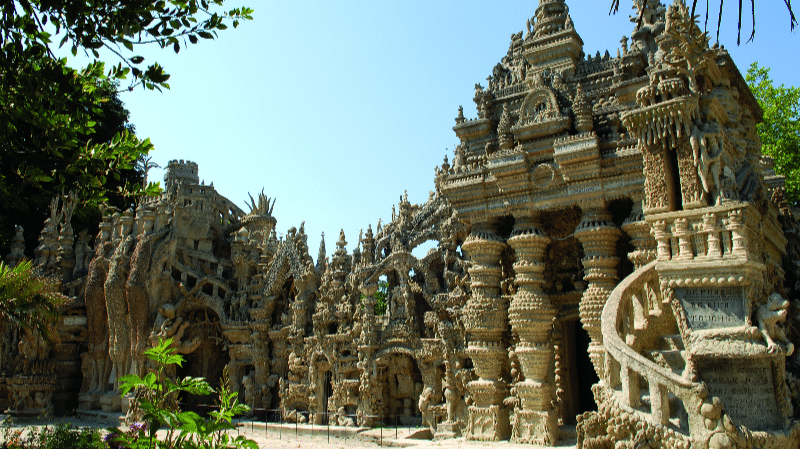 View on the Ideal Palace of Postman Cheval