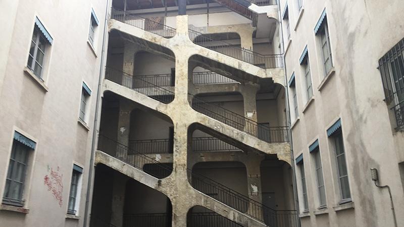 La Cour des Voraces, traboule in Lyon