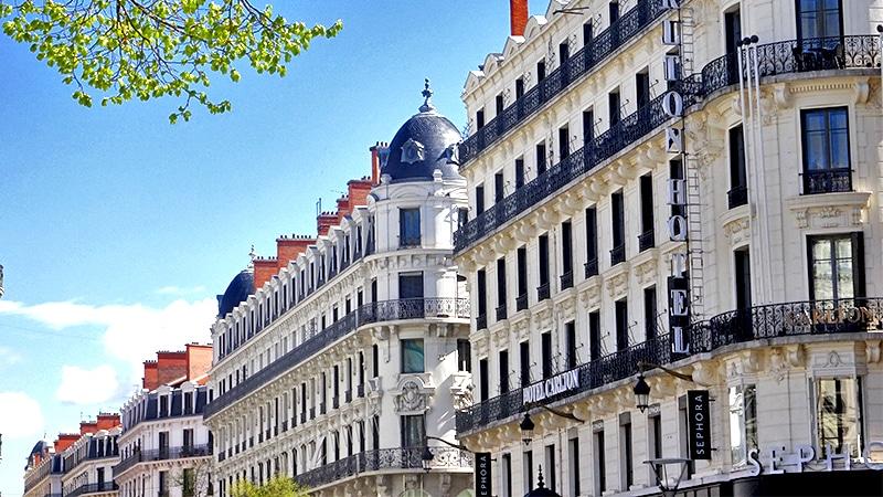 Rue de la République in Lyon 2.