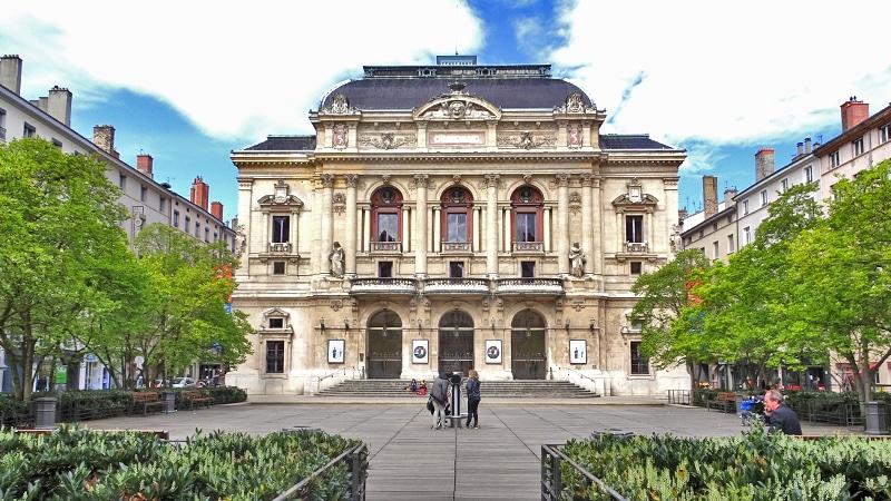 The Théâtre des Célestins in Lyon 2.