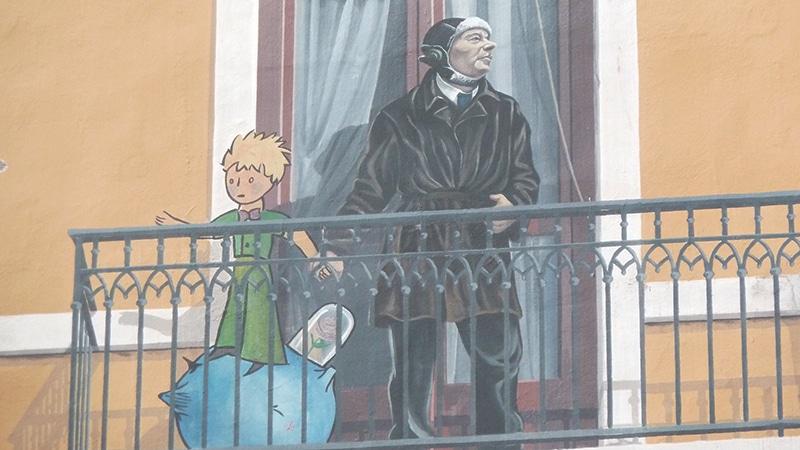 La Fresque des Lyonnais in Lyon.