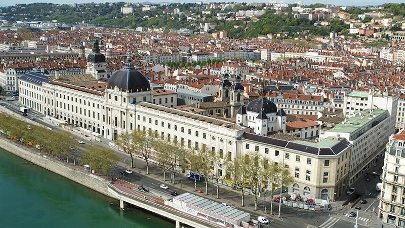 Lyon's Grand hotel dieu