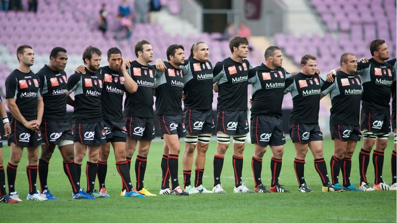 LOU Rugby's team