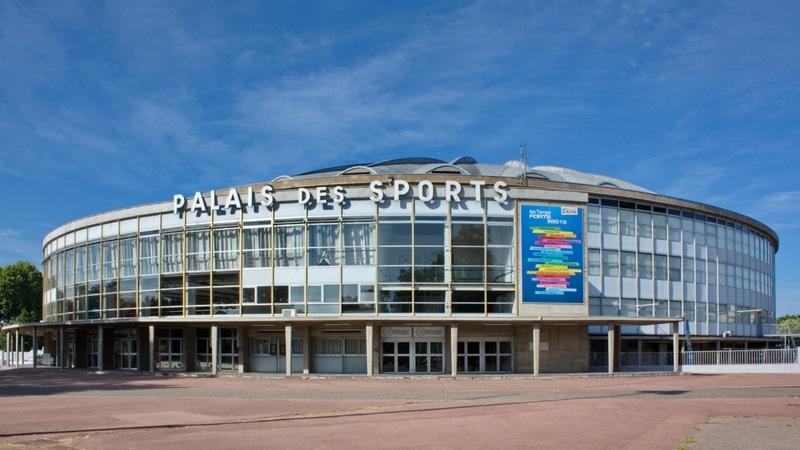 palais des sports de gerland home of the asul lyon volley