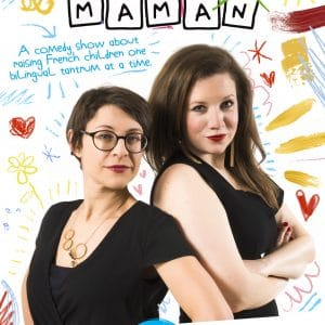 becoming maman english comedy show in lyon