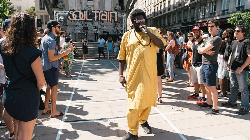 Soul Train Nuits Sonores off event in 2017