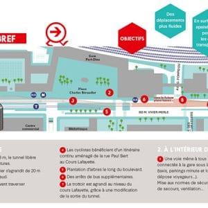 boulevard vivier merle road work traffic plan
