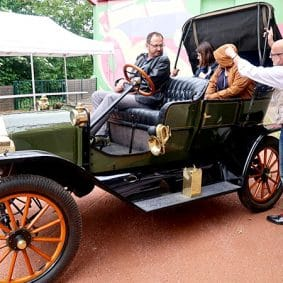 ford t 1910 at the musee automobile henri malartre