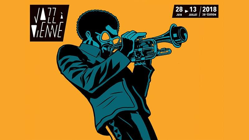 jazz à vienne 2018 poster