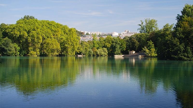 Parc Tete d'or in Lyon