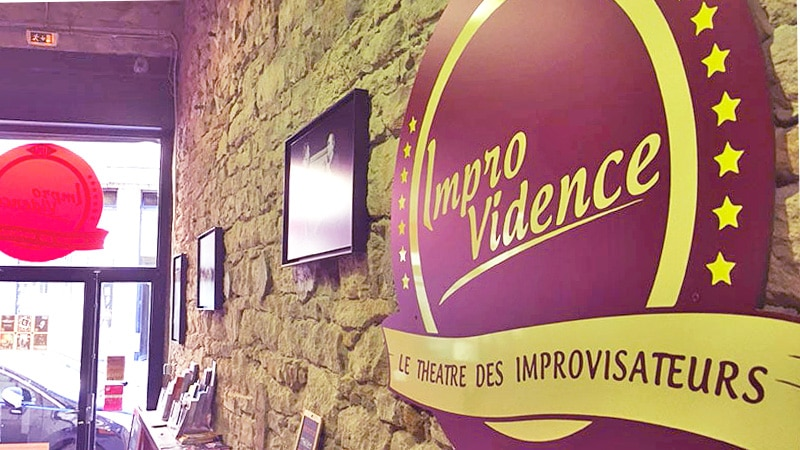 lyon improvidence theater sign