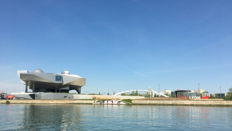 What to do with kids in Lyon : musée des Confluences