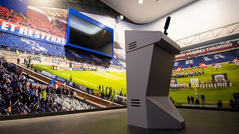 olympique lyonnais museum ol musée in Groupama stadium