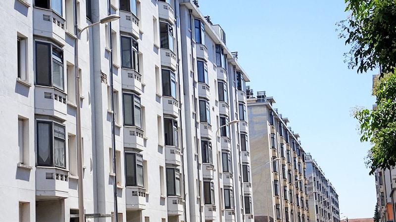 the etats-unis housing blocks in lyon 8
