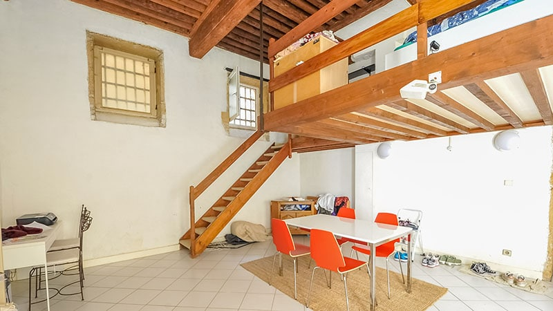 Typical apartment for sale in Lyon Croix-Tousse