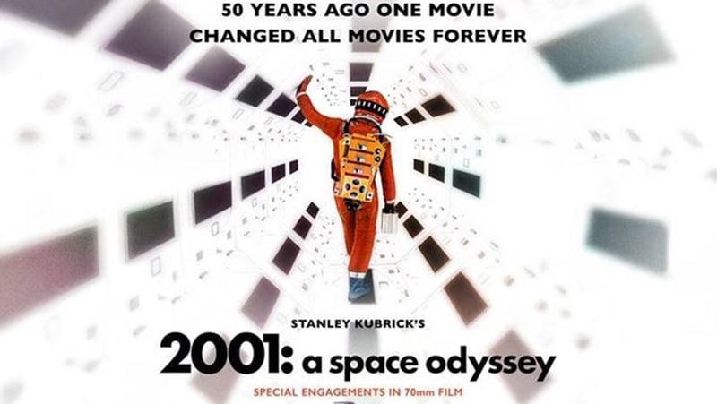 "Stanley Kubrick's masterpiece ""2001: a space odyssey"""