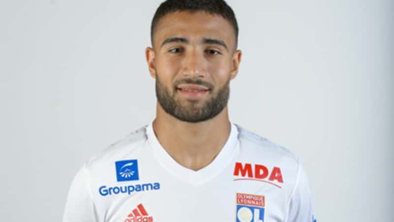 Nabil Fekir captain of the Olympique Lyonnais